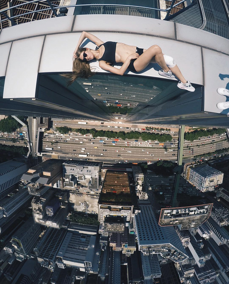 Angela Nikolau - world's riskiest selfie-taker